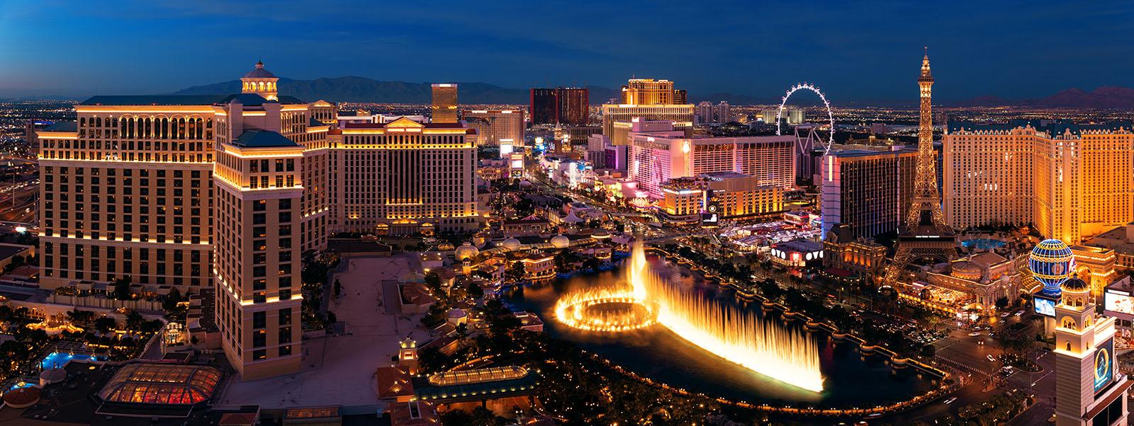 Las Vegas Strip night